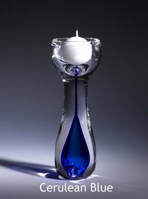Swedish Candle Holder - Cobalt Blue