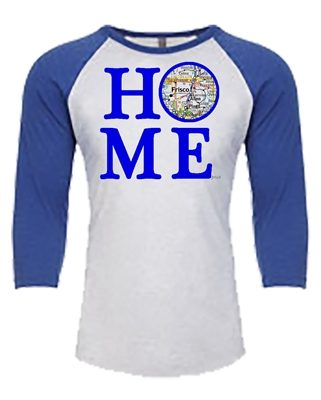 Baseball Tee - Home Map