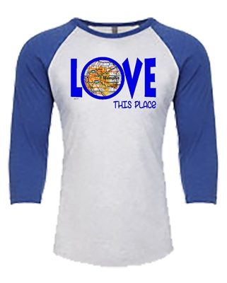 Baseball Tee - Love This Place