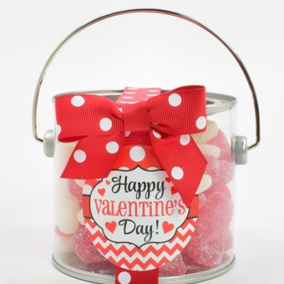 Valentine Gummy Paint Can
