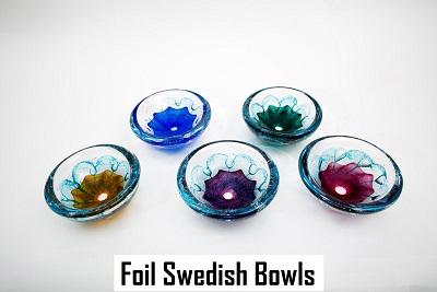 Foil Swedish Bowls