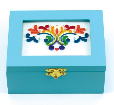 Rainbow Musical Keepsake Box